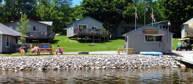 Rice Lake Cottage Rentals Fishing Sunshine Cove